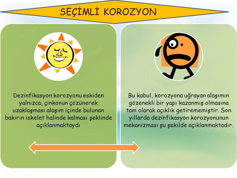 SEÇİMLİ KOROZYON