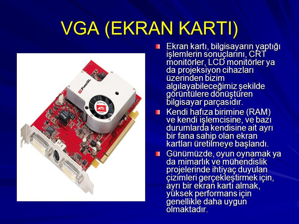 VGA (EKRAN KARTI)