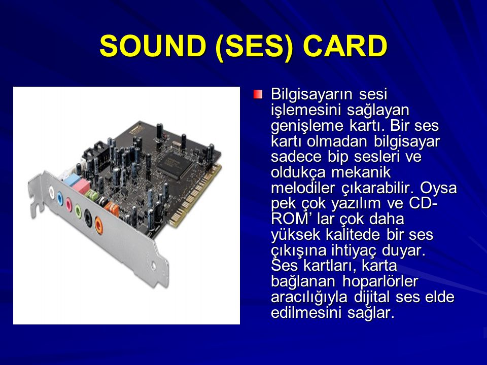 SOUND (SES) CARD