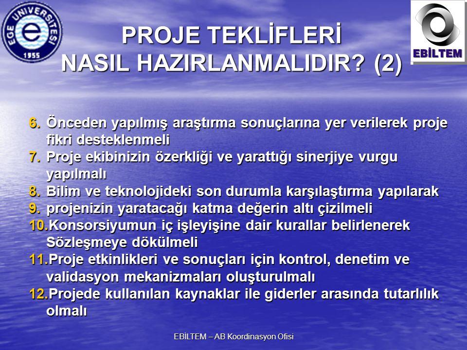 PROJE TEKLİFLERİ NASIL HAZIRLANMALIDIR (2)