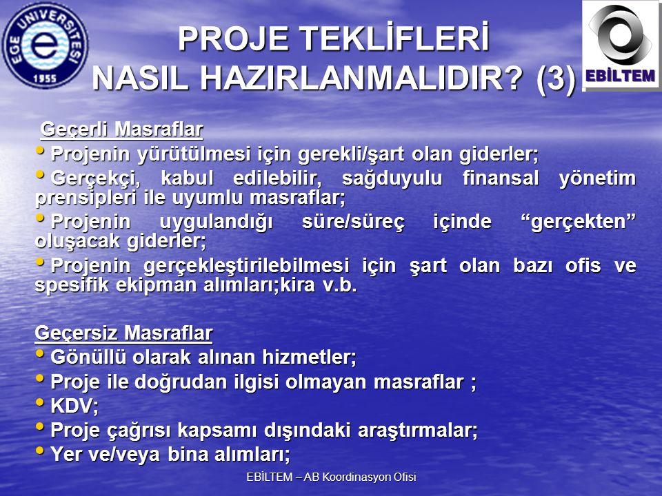 PROJE TEKLİFLERİ NASIL HAZIRLANMALIDIR (3)