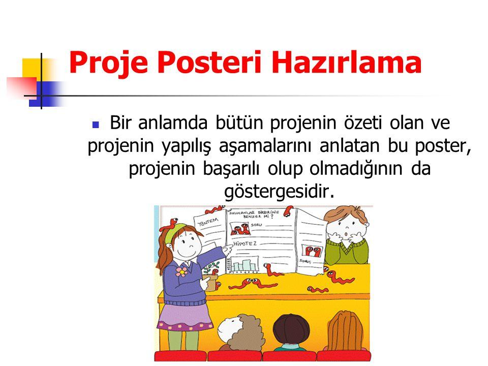 Proje Posteri Hazırlama