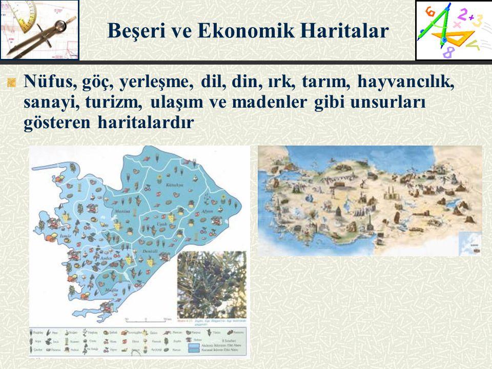 Beşeri ve Ekonomik Haritalar