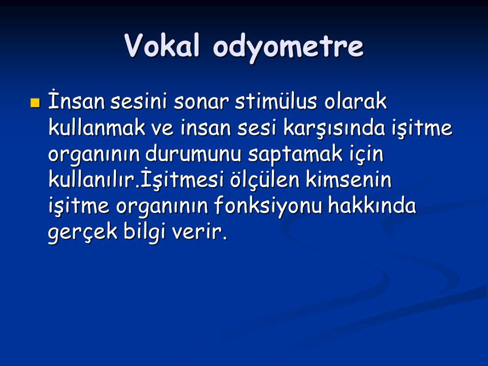 Vokal odyometre