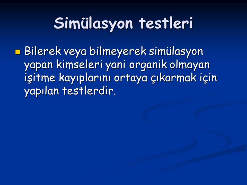 Simülasyon testleri