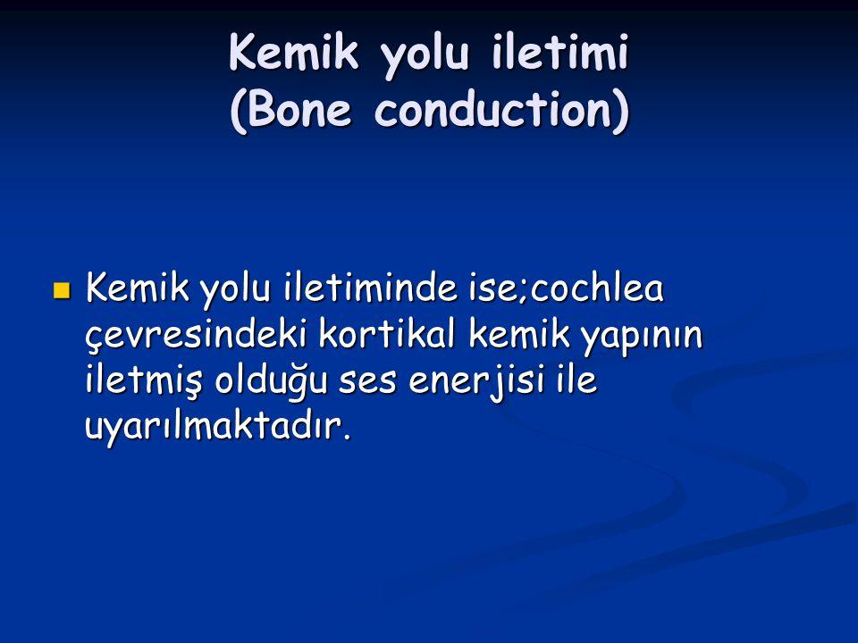 Kemik yolu iletimi (Bone conduction)