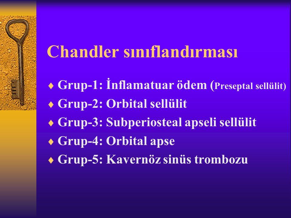 Chandler sınıflandırması