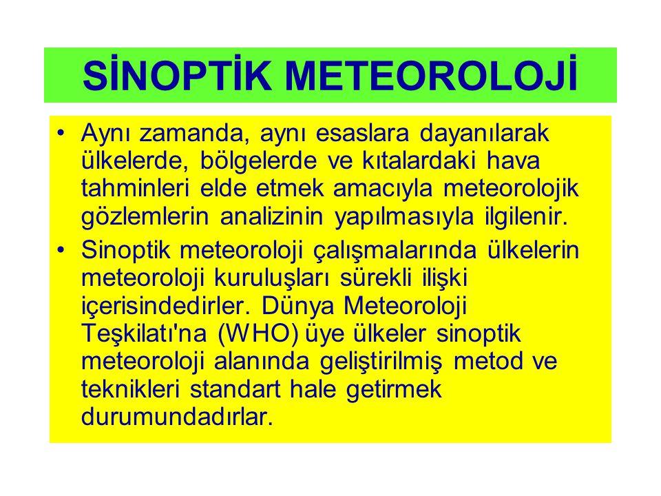 SİNOPTİK METEOROLOJİ