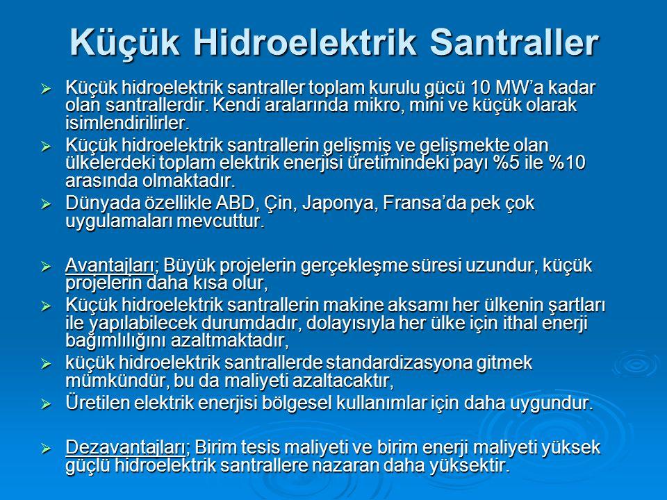 Küçük Hidroelektrik Santraller