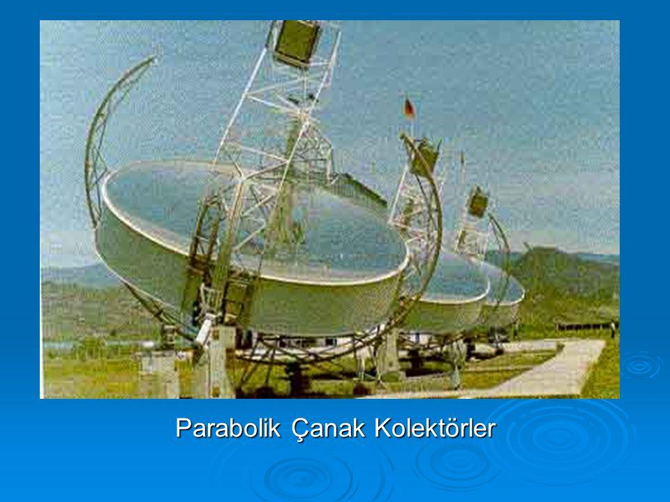 Parabolik Çanak Kolektörler