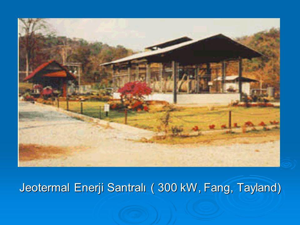 Jeotermal Enerji Santralı ( 300 kW, Fang, Tayland)