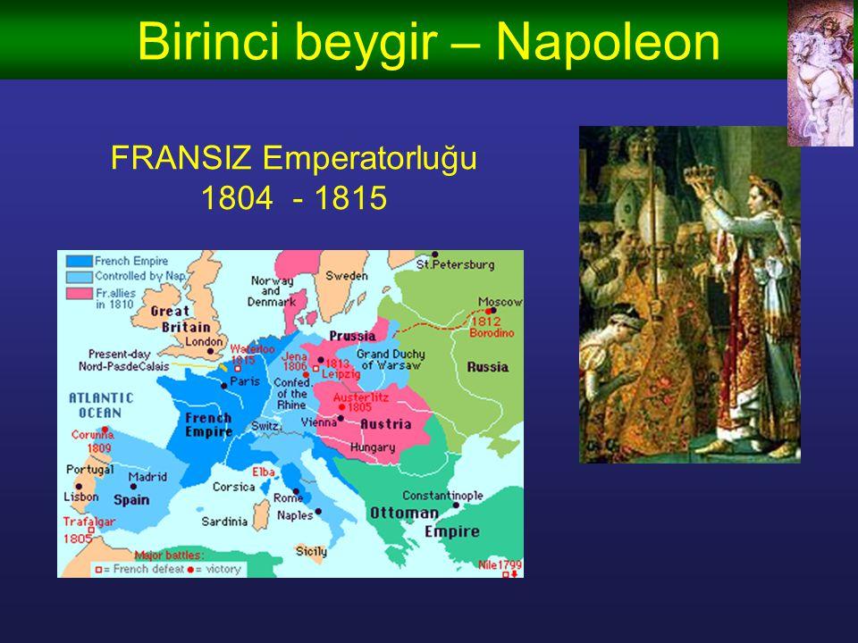 Birinci beygir – Napoleon