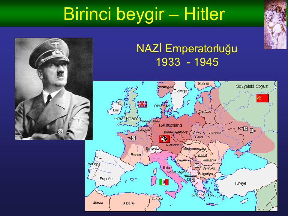 Birinci beygir – Hitler