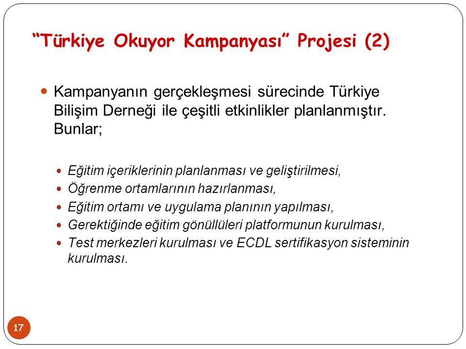 Türkiye Okuyor Kampanyası Projesi (2)