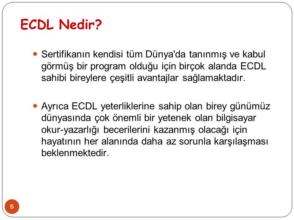 ECDL Nedir