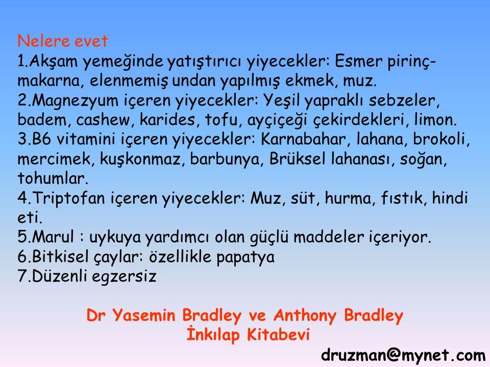 Dr Yasemin Bradley ve Anthony Bradley İnkılap Kitabevi