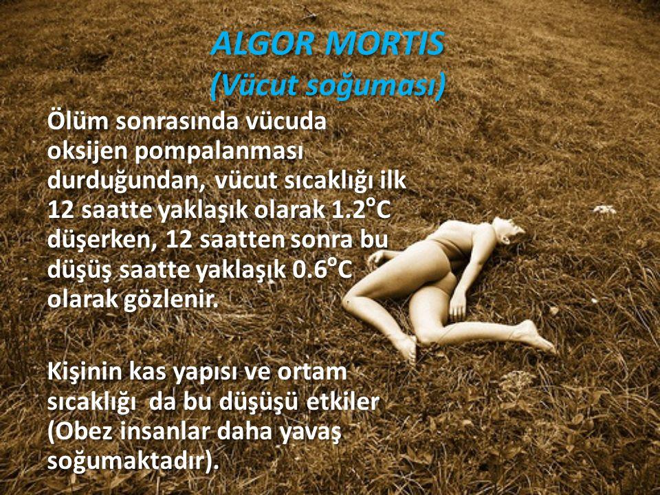 ALGOR MORTIS (Vücut soğuması)