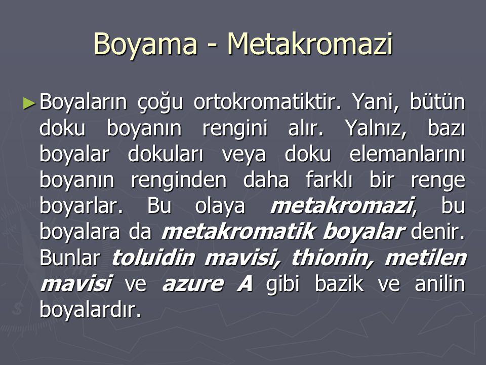 Boyama - Metakromazi