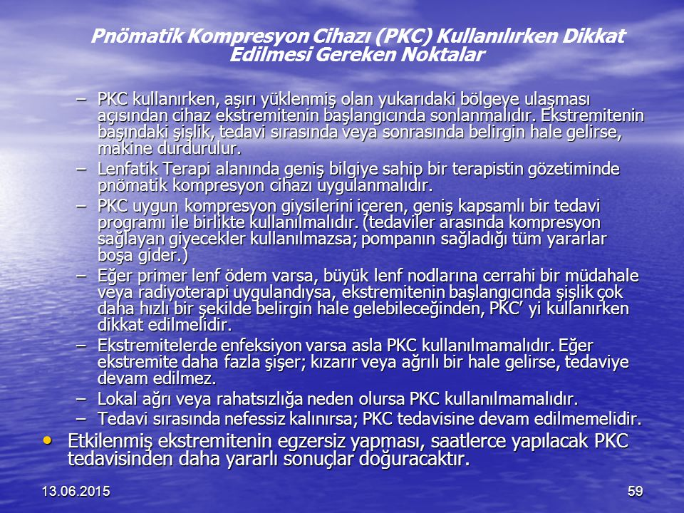 Pnömatik Kompresyon Cihazı (PKC) Kullanılırken Dikkat Edilmesi Gereken Noktalar