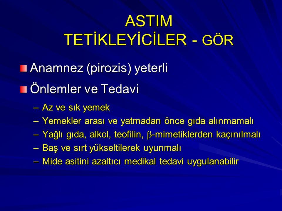 ASTIM TETİKLEYİCİLER - GÖR