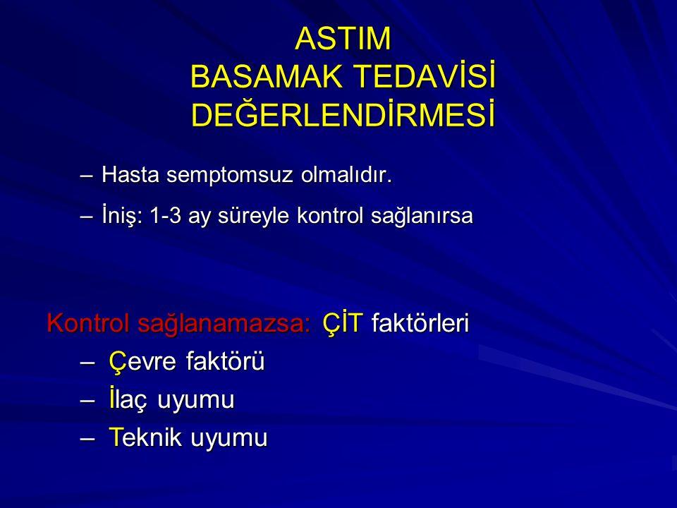 ASTIM BASAMAK TEDAVİSİ DEĞERLENDİRMESİ