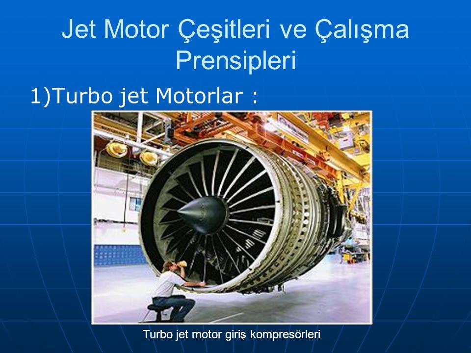 Jet Motor Çeşitleri ve Çalışma Prensipleri