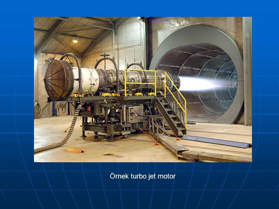 Örnek turbo jet motor