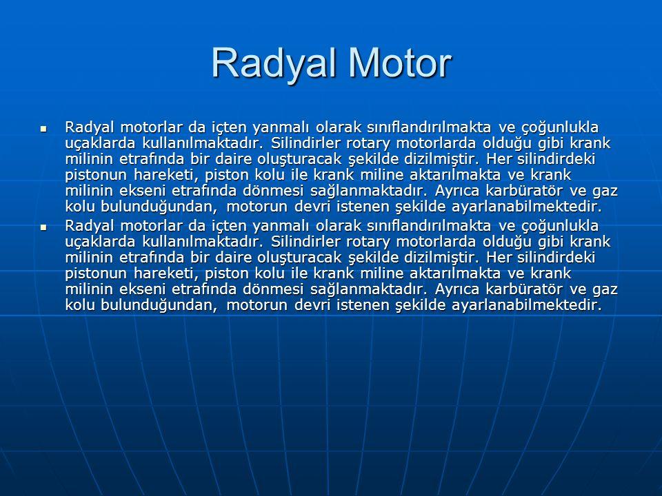 Radyal Motor