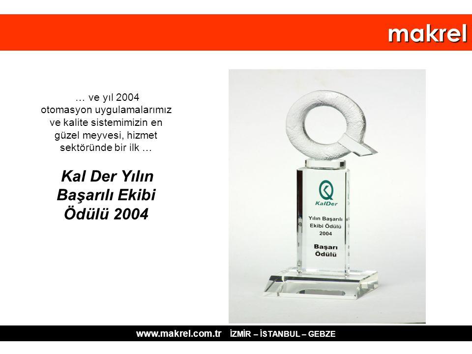 www.makrel.com.tr İZMİR – İSTANBUL – GEBZE