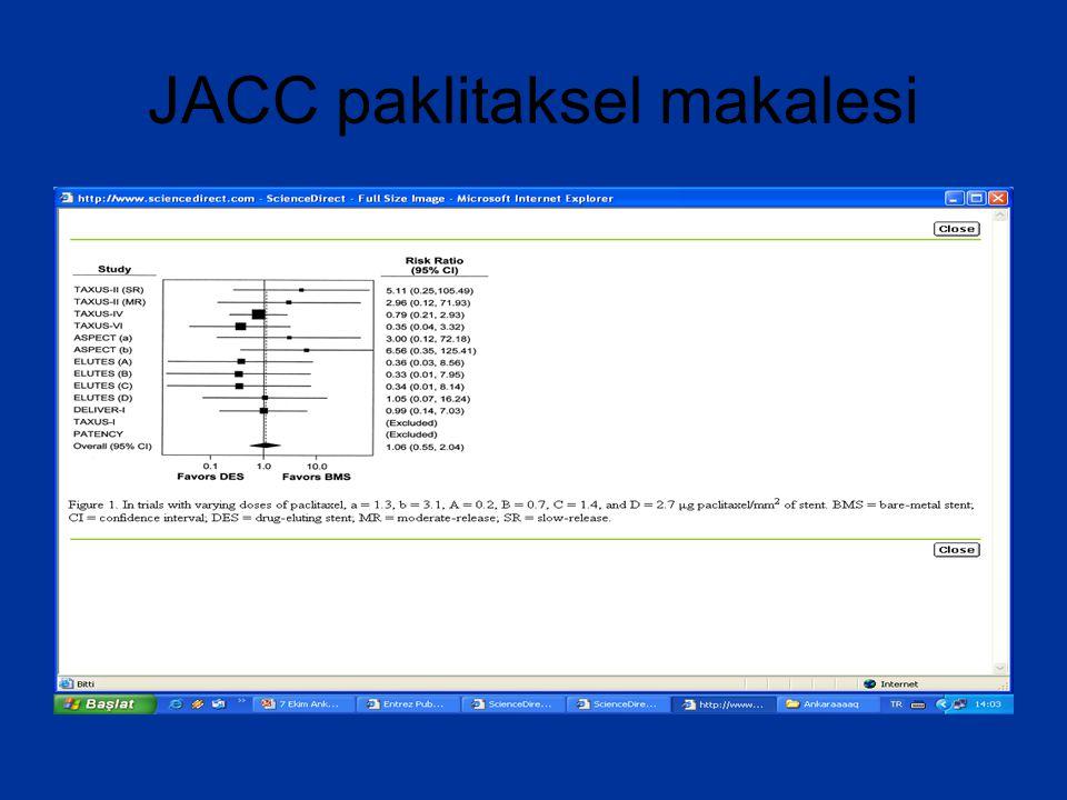 JACC paklitaksel makalesi