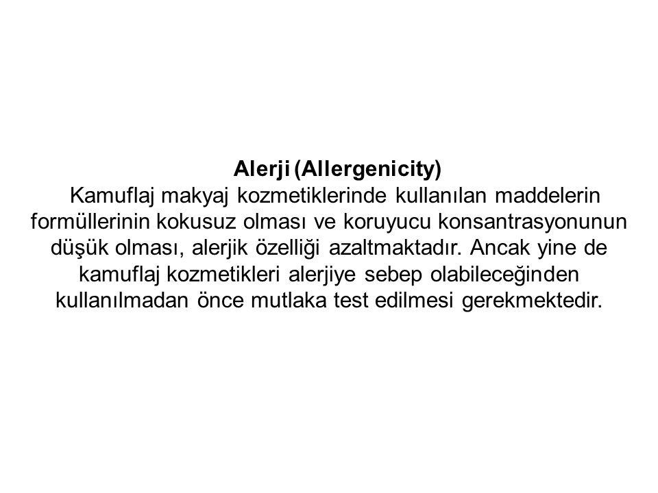 Alerji (Allergenicity)