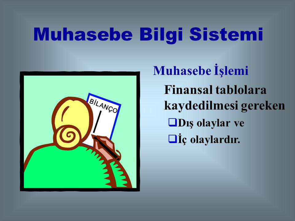 Muhasebe Bilgi Sistemi