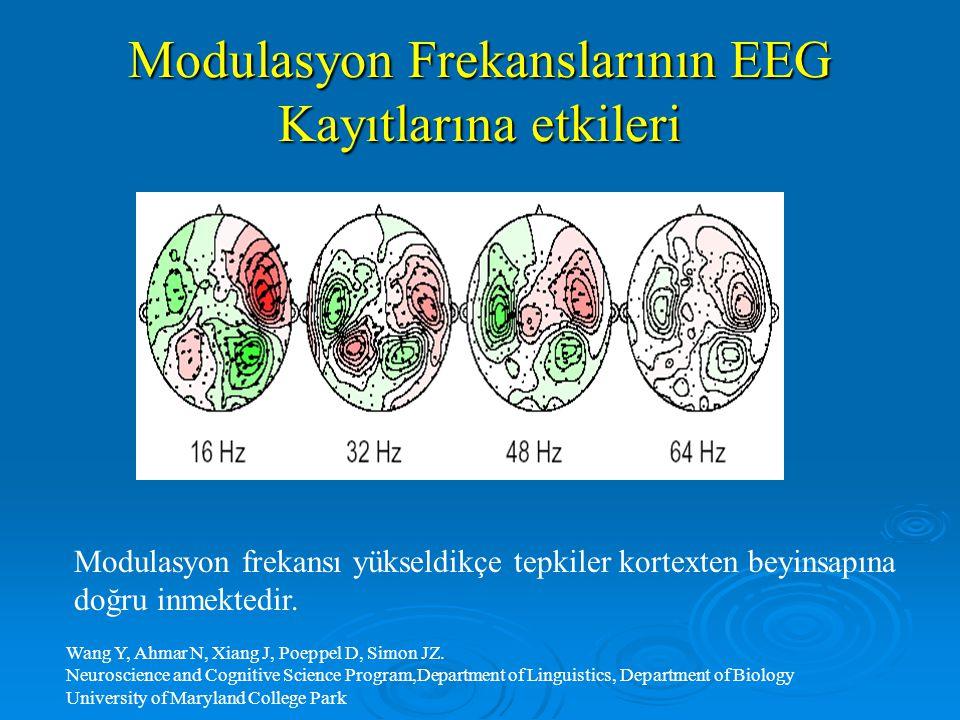 Modulasyon Frekanslarının EEG Kayıtlarına etkileri