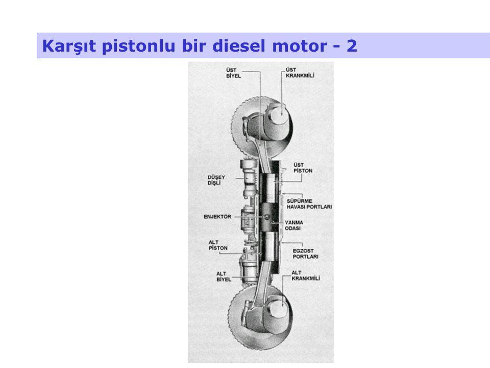 Karşıt pistonlu bir diesel motor - 2
