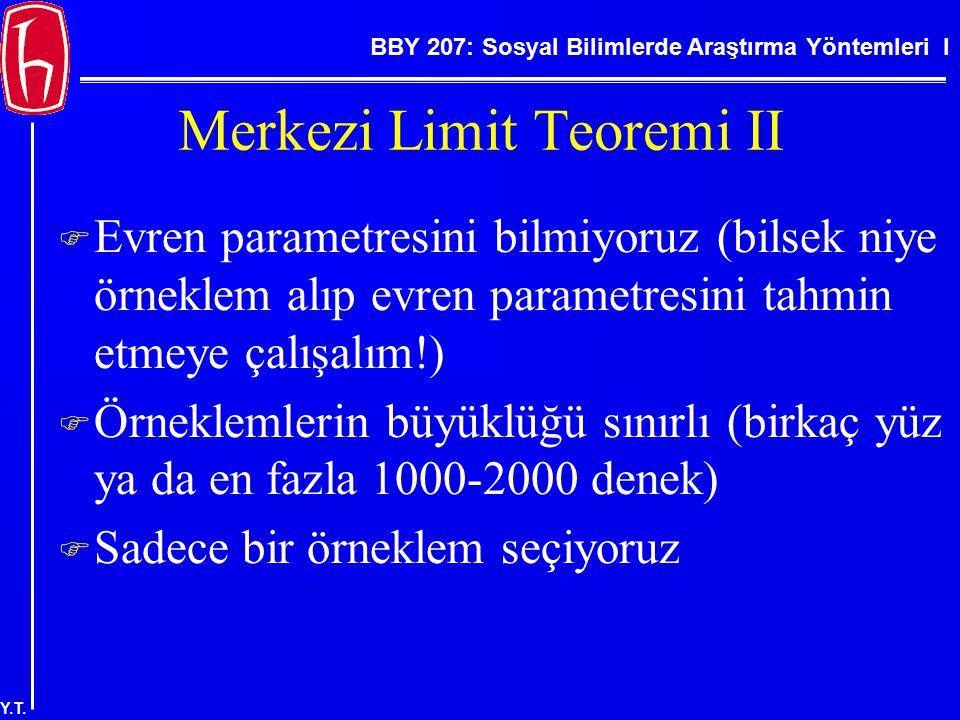 Merkezi Limit Teoremi II