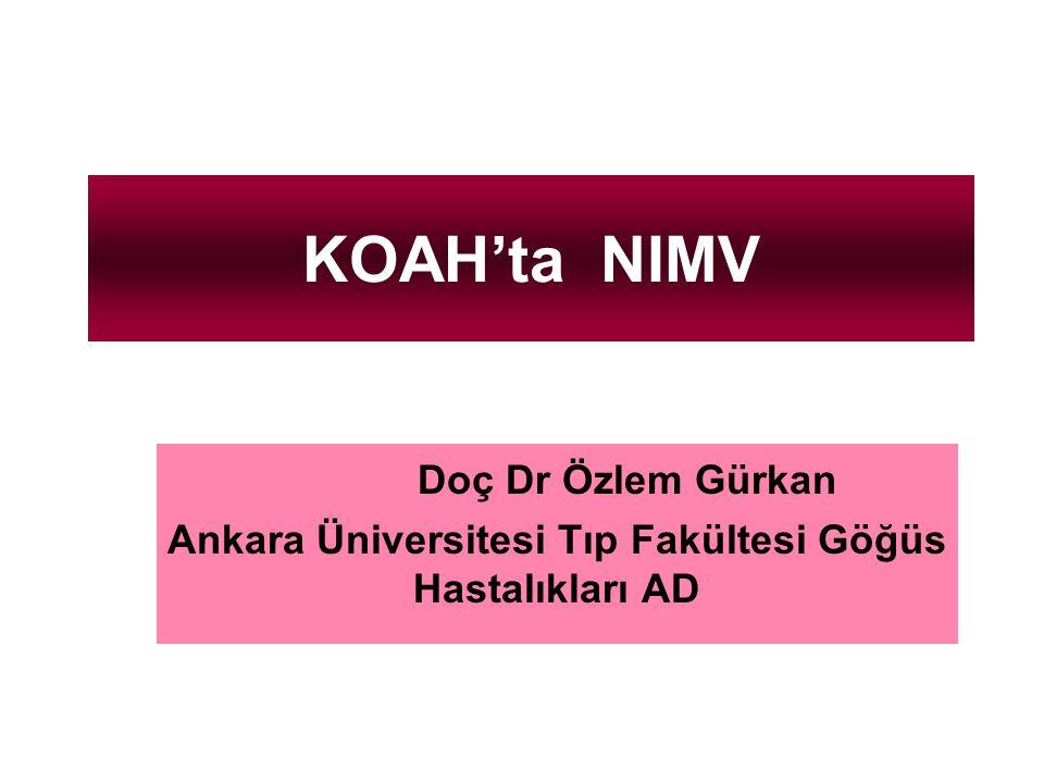 Ankara Üniversitesi Tıp Fakültesi Göğüs Hastalıkları AD
