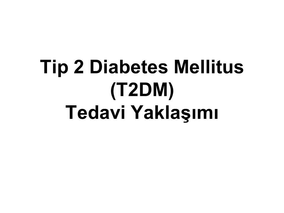 Tip 2 Diabetes Mellitus (T2DM) Tedavi Yaklaşımı