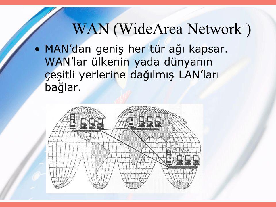 WAN (WideArea Network )