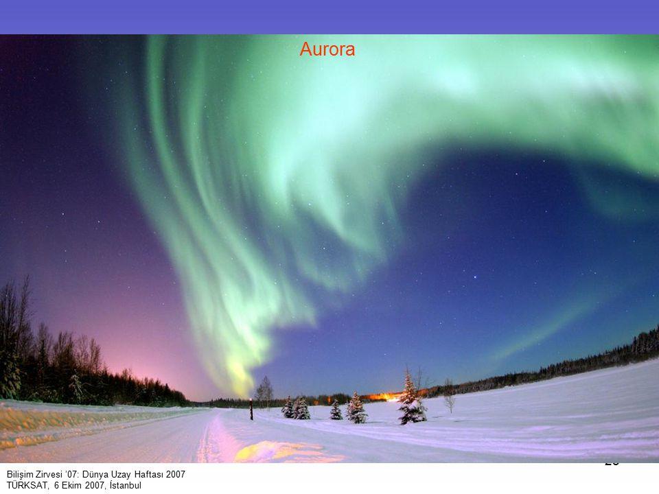 Aurora Bilişim Zirvesi '07: Dünya Uzay Haftası 2007