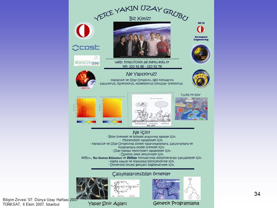 Biz Kimiz (2007) Yere Yakın Uzay Grubu