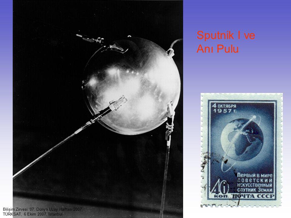 Sputnik I ve Anı Pulu Bilişim Zirvesi '07: Dünya Uzay Haftası 2007