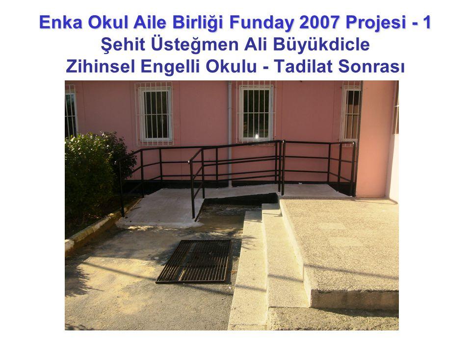 Enka Okul Aile Birliği Funday 2007 Projesi - 1 Şehit Üsteğmen Ali Büyükdicle Zihinsel Engelli Okulu - Tadilat Sonrası