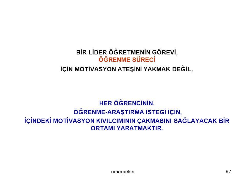 ÖĞRENME-ARAŞTIRMA İSTEGİ İÇİN,