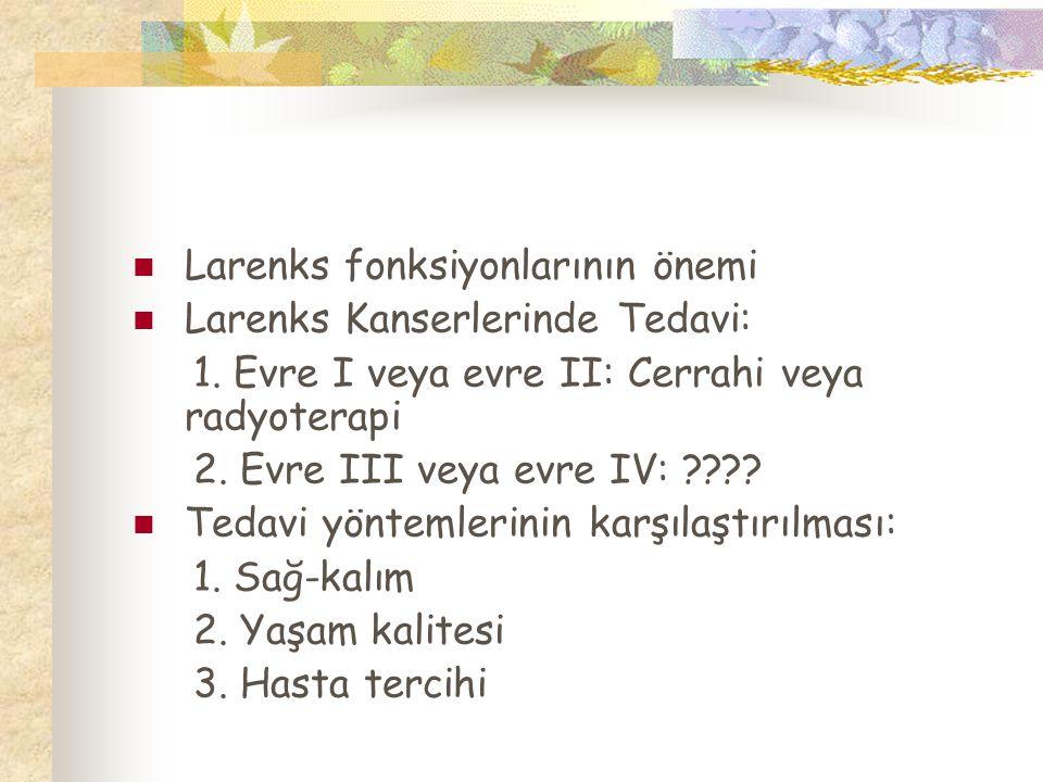 Larenks fonksiyonlarının önemi