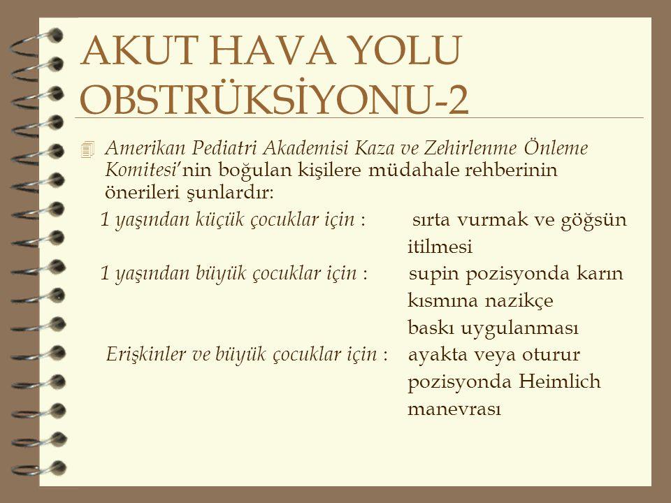 AKUT HAVA YOLU OBSTRÜKSİYONU-2