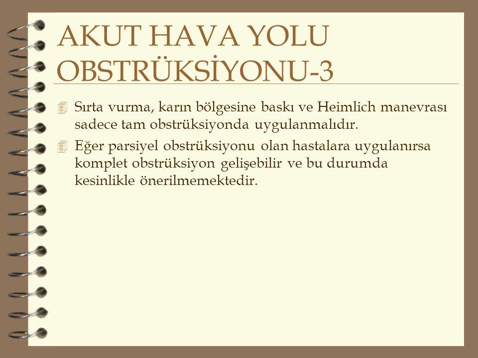 AKUT HAVA YOLU OBSTRÜKSİYONU-3