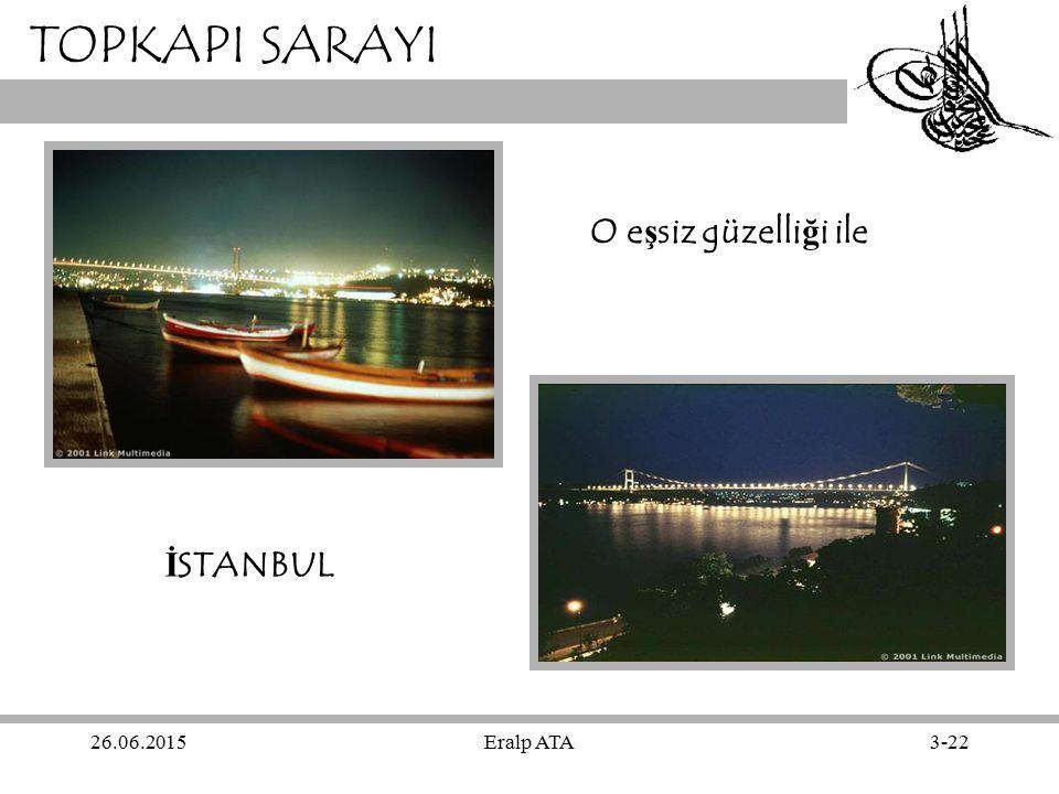 TOPKAPI SARAYI O eşsiz güzelliği ile İSTANBUL 17.04.2017 Eralp ATA