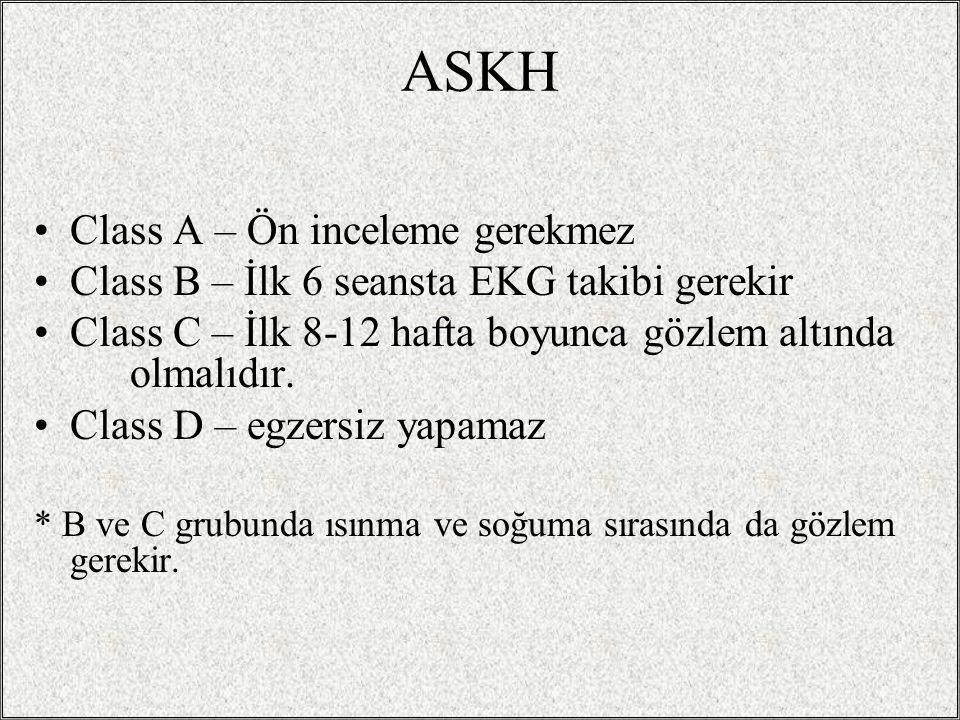 ASKH Class A – Ön inceleme gerekmez