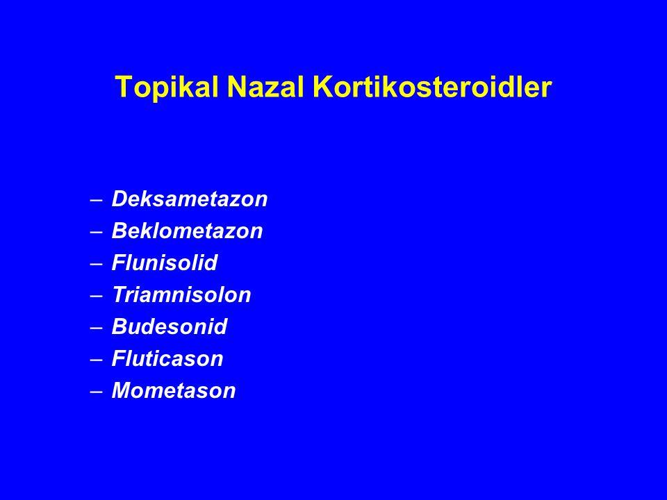 Topikal Nazal Kortikosteroidler