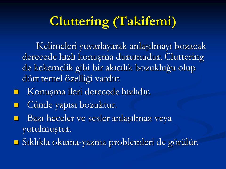 Cluttering (Takifemi)